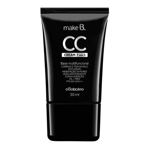 Make B. CC Cream Base Multifuncional 7 em 1, 30ml