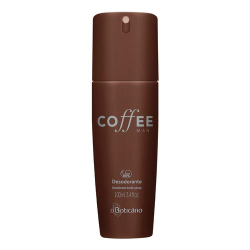 Coffee Man Desodorante Body Spray, 100ml