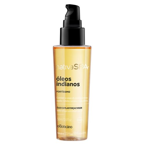 Nativa SPA Óleos Indianos Óleo Capilar, 50ml