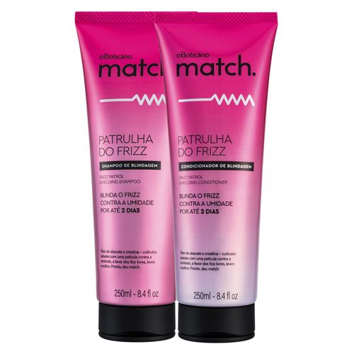 Combo Match Patrulha do Frizz: Shampoo + Condicionador