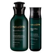 Combo Nativa SPA Baunilha Real: Loção Hidratante 400ml + Body Splash 200ml
