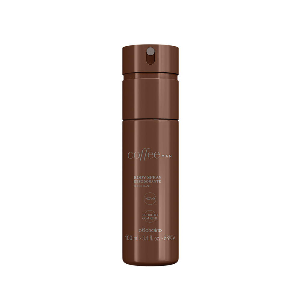 Desodorante Body Spray Coffee Man, 100 ml