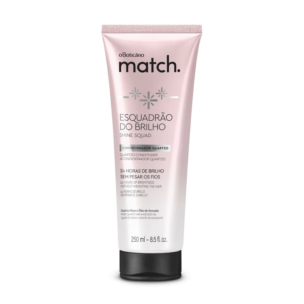 Condicionador Match Brilho, 250 ml